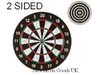 "Offical size 18"" Size Full colour, flocked dartboard"