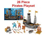 26 peice Pirates Play Set