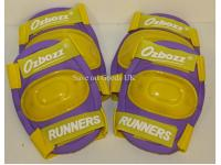 Kids 4 piece protective pads - Small Purple / Yellow