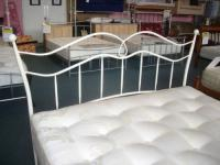 5ft Kingsize ivory cream headboard
