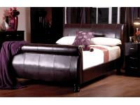 4ft6 Diego Faux Leather Bed Frame