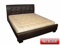 5ft Rembrandt Leather Bed Frame