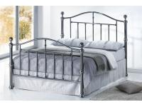 4ft6 Viceroy Black Nickel Bed Frame