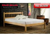 4ft6 Astra Pine Bed Frame