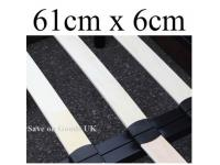 61cm x 6cm replacement bed slat