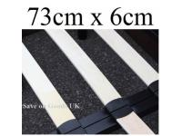 73cm x 6cm replacement bed slat