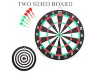 "17"" Size Dartboard with 2 x sets of darts"