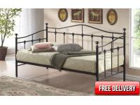 3ft Deluxe Daybed Black
