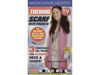 Scarf with heated hand pockets - Beige