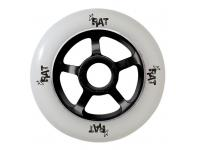 RAT Scooter Black spokes white wheel