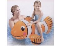 Inflatable ride on Clown Fish