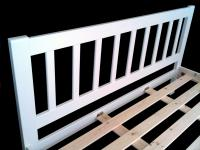 6ft Princeton White Pine Bed Frame