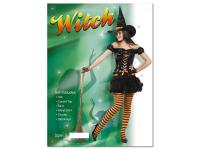 Ladies Witch Fancy Dress - Medium